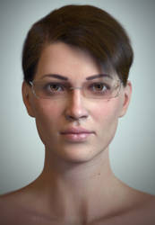 Face of a Woman