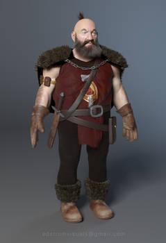 Dwarf Hunter wip