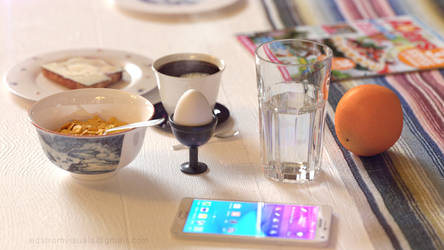 Swedish Breakfast 3D Scene
