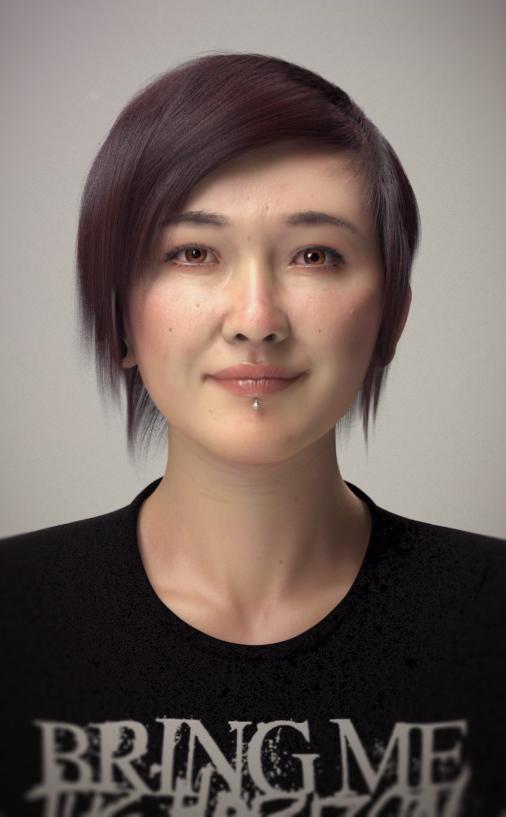 3D Portrait by Mattiasedstrom