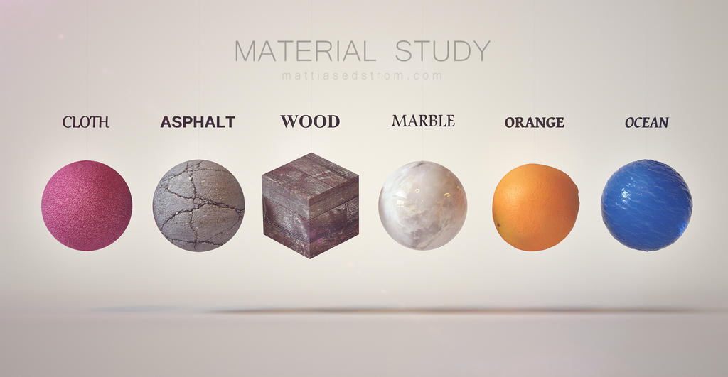 Material Study by Mattiasedstrom