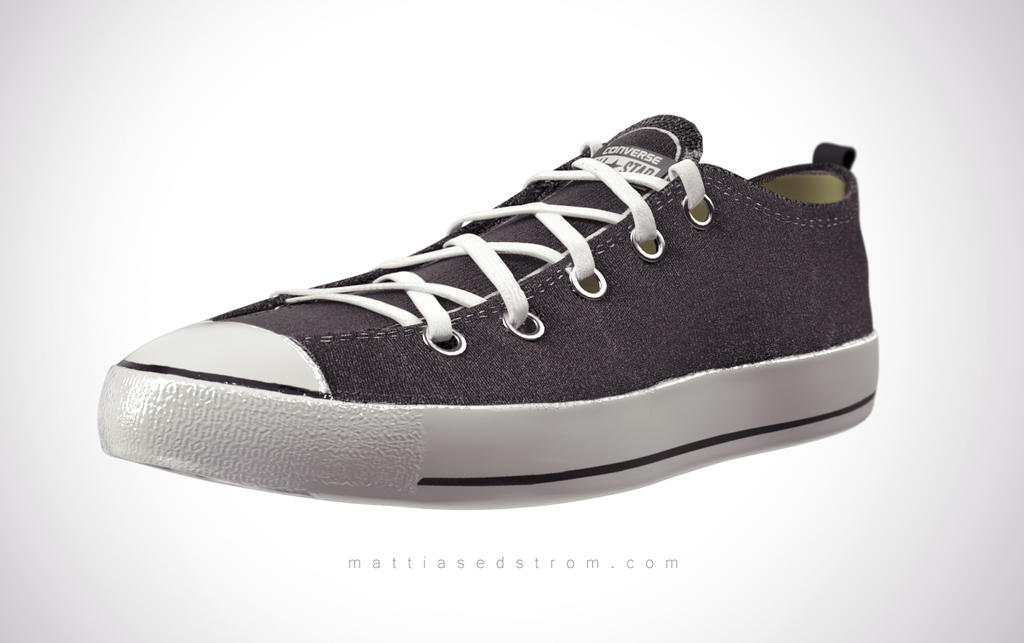 Converse Shoe by Mattiasedstrom