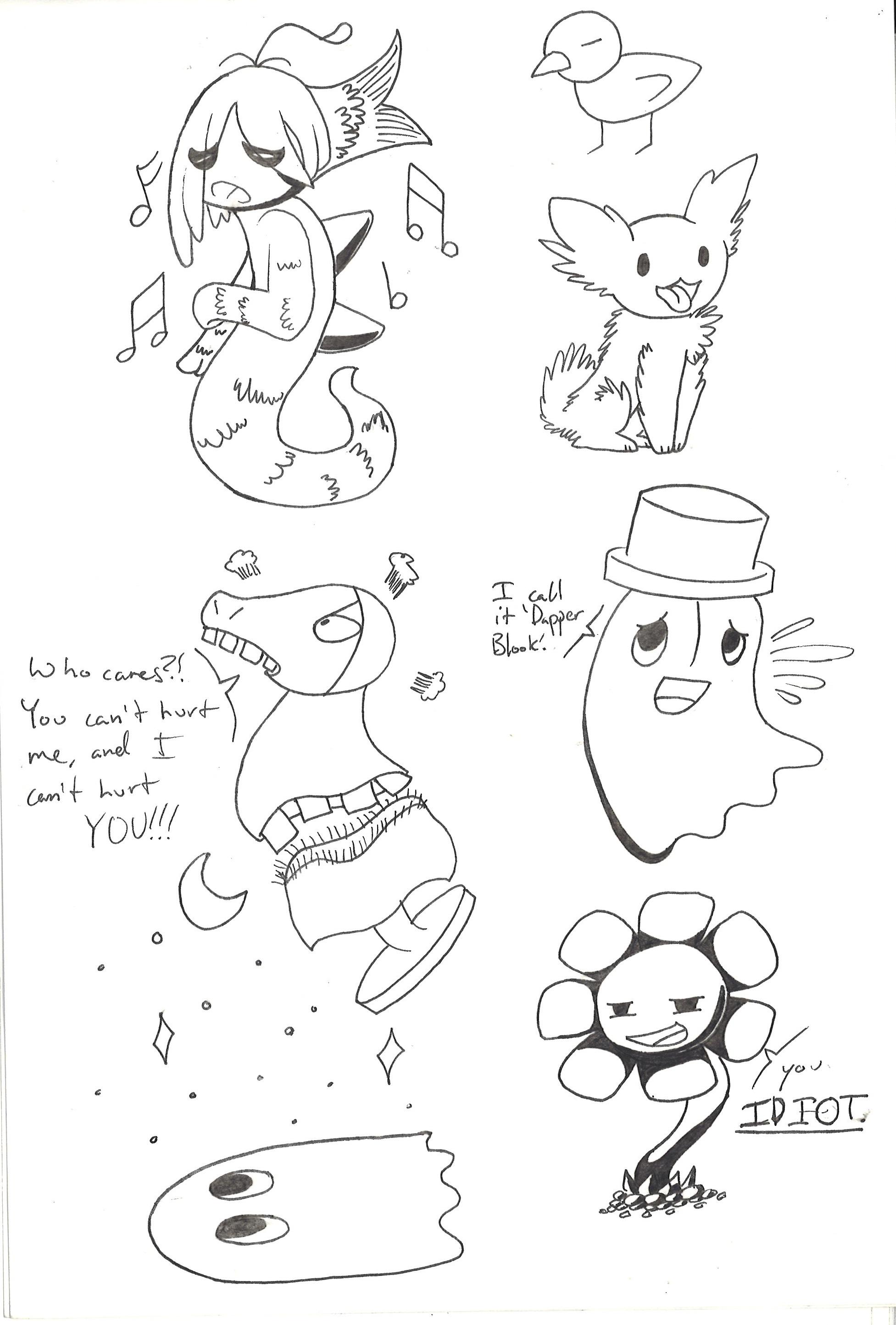 Undertale Sketch dump by Sh0ckwavve