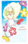 Whimsicott + Comfey pokefusion!