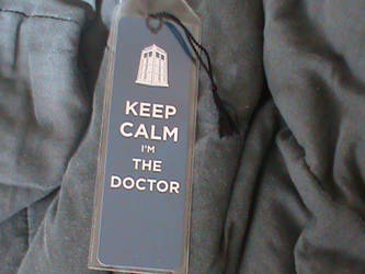 Doctor Who Bookmark by bogm0nst3r