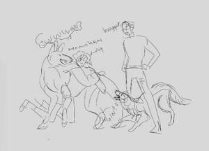 Species profile- dog humans, kennels dogs- written
