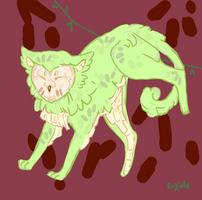 Pine-Apple Cat