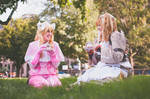 Maribelle and Lissa ~Tea Time~ by frobin