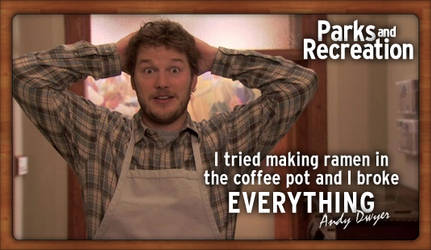 Parks and Recreation by fourdaysfromnow
