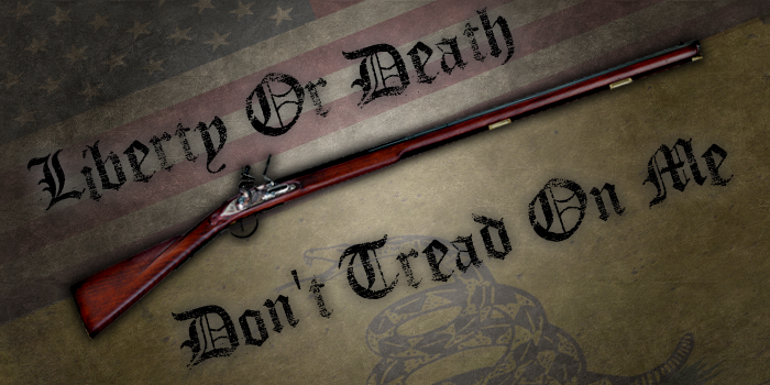 Don't Tread On Me - Liberty Or Death by fourdaysfromnow