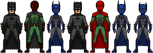 War of the Batmen: The Good Guys by UndefinedScott