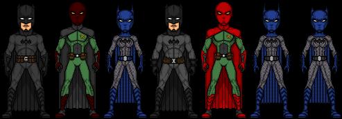 War of the Batmen: The Good Guys by UndefinedScott