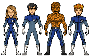 Fantastic Four by UndefinedScott