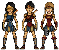 Wonder Woman Variants by UndefinedScott