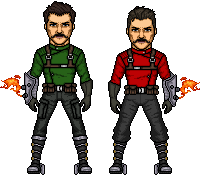 Mario Brothers by UndefinedScott