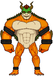 Classic Bowser by UndefinedScott