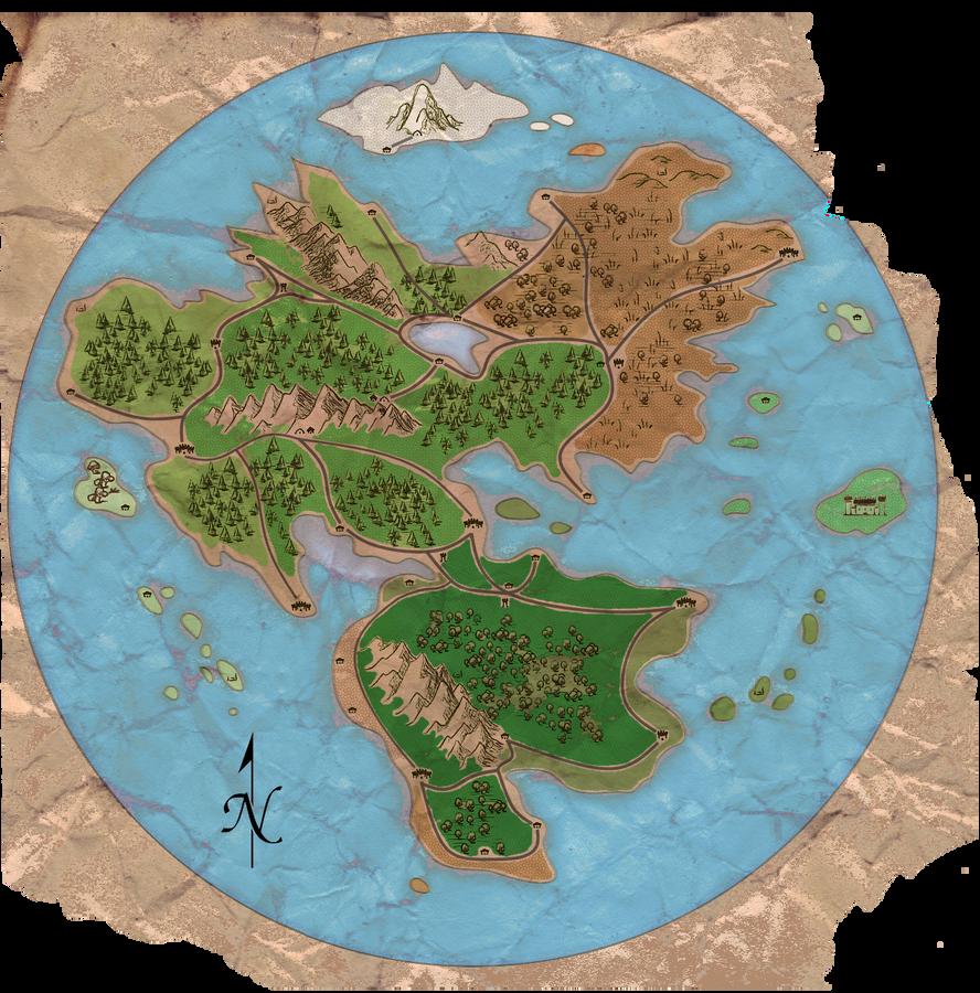 World Map2 by UndefinedScott