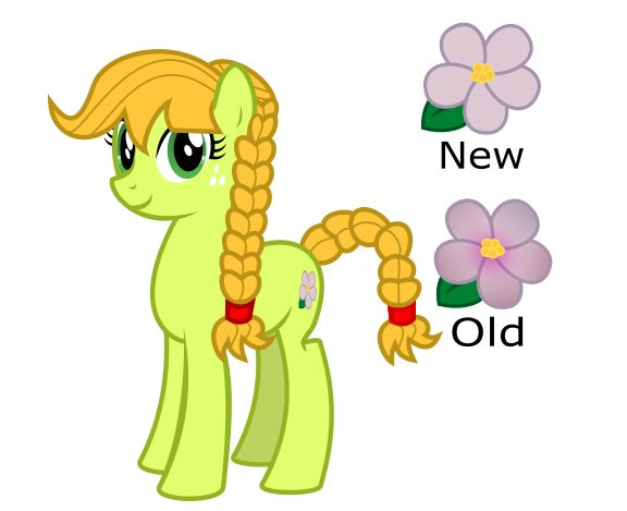 Apple blossom pony