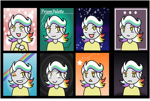 The Many Moods of Prism Palette