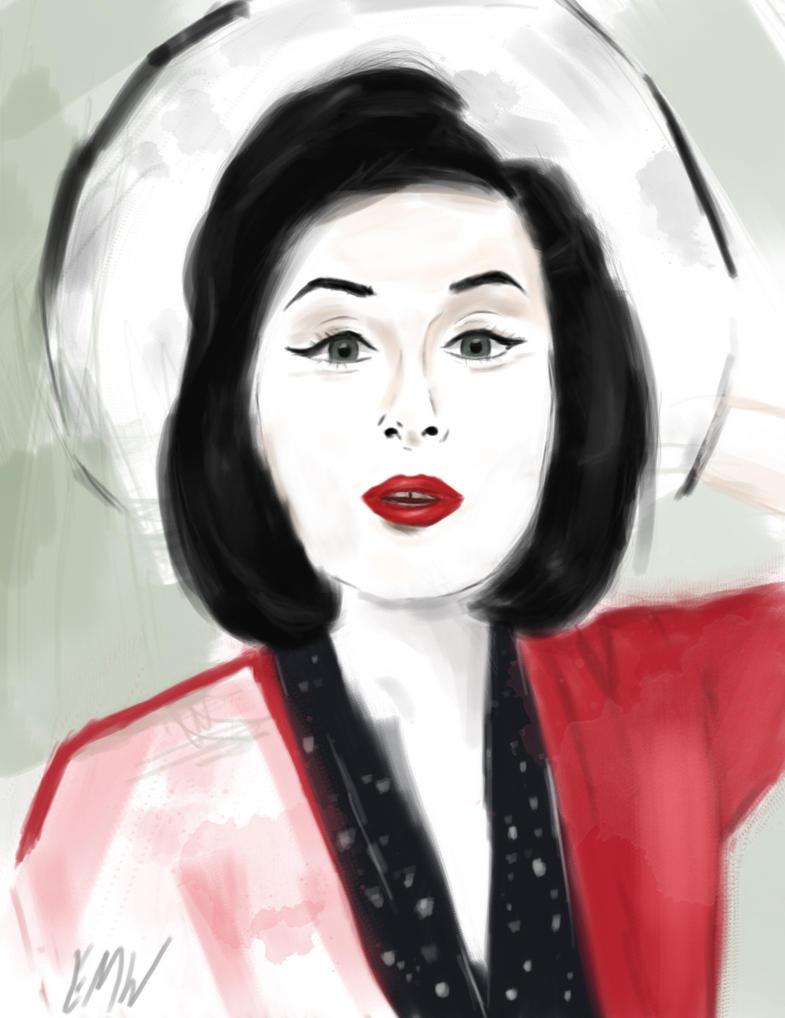 KirstieMyDear - Digital Sketch by FlyingKnight