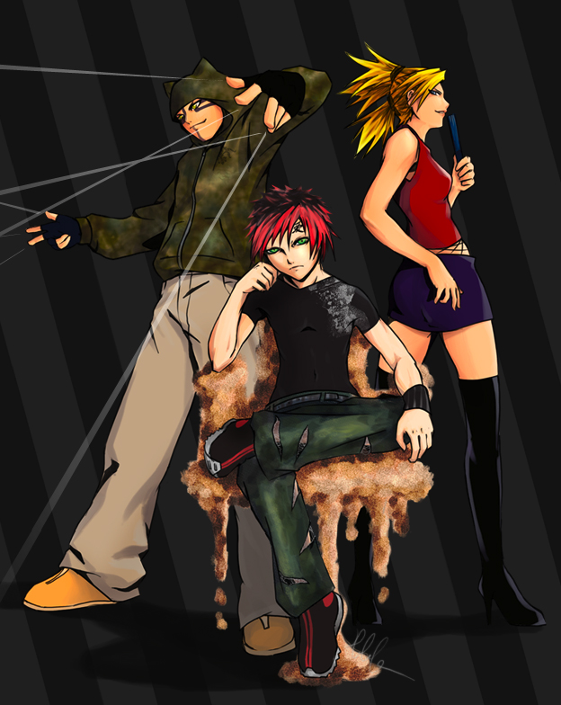 Sand Trio...punk'd by soaro