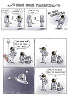 <b>Some Space Problems</b><br><i>mistermat05</i>