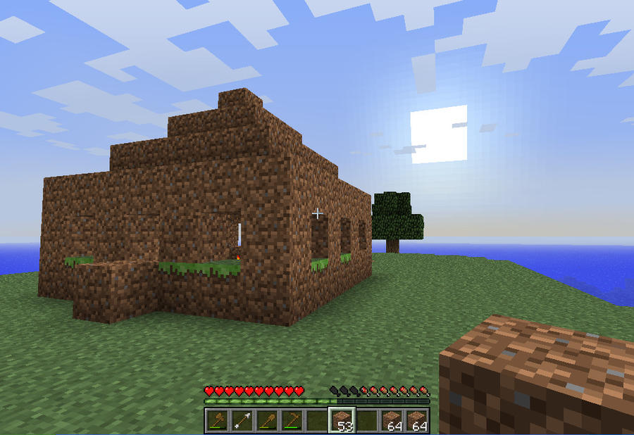 The Ultimate Survival Island House by RudeCanadian on DeviantArt