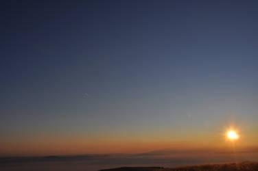 sky and fog by Folfy939