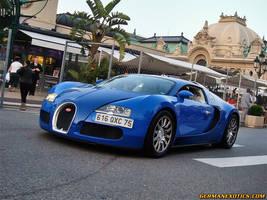 Bugatti Veyron in blue by GERMANEXOTICS