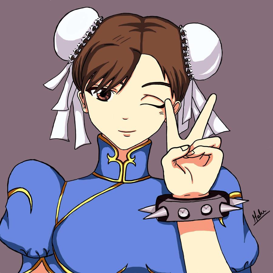Chun li (colored version) by maalunin