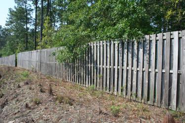 angled fence by shnarfle-stock