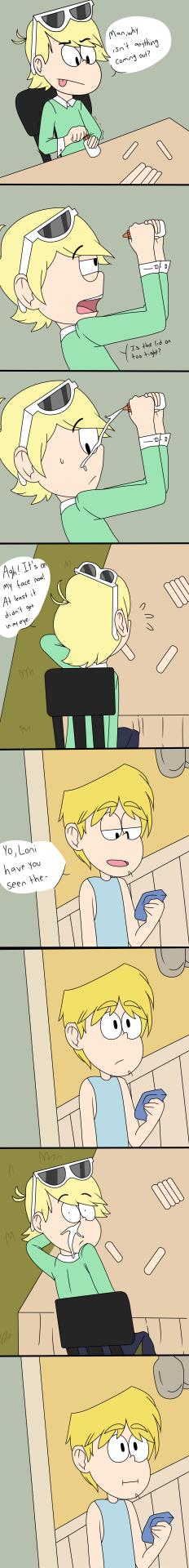 Loni Fail and Loki Loud - by MikikiMr