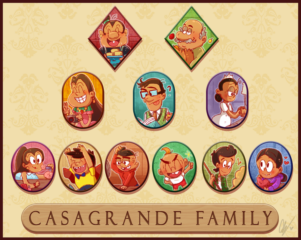 Casagrande Family by MikikiMr
