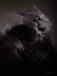 Undead Warrior by erenarik