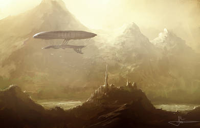 Zeppelin by erenarik