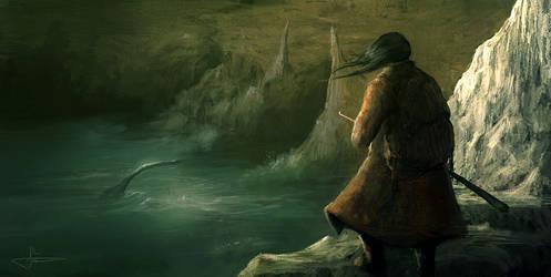 i saw a sea monster by erenarik