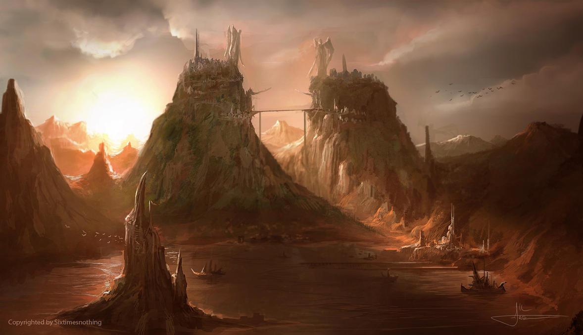 The Pillars of Heaven by erenarik