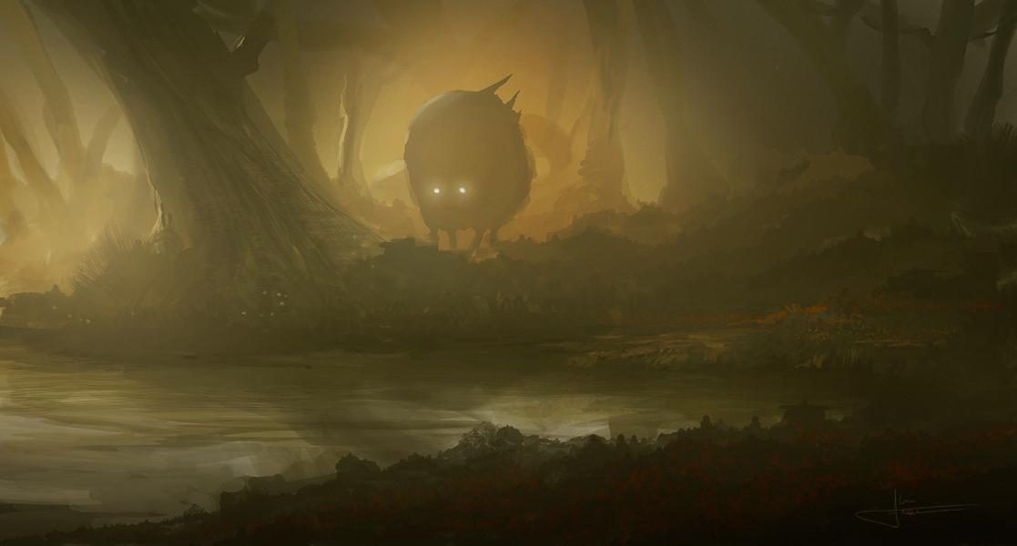 Creature 1 by erenarik