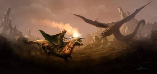Haarg Attack by erenarik