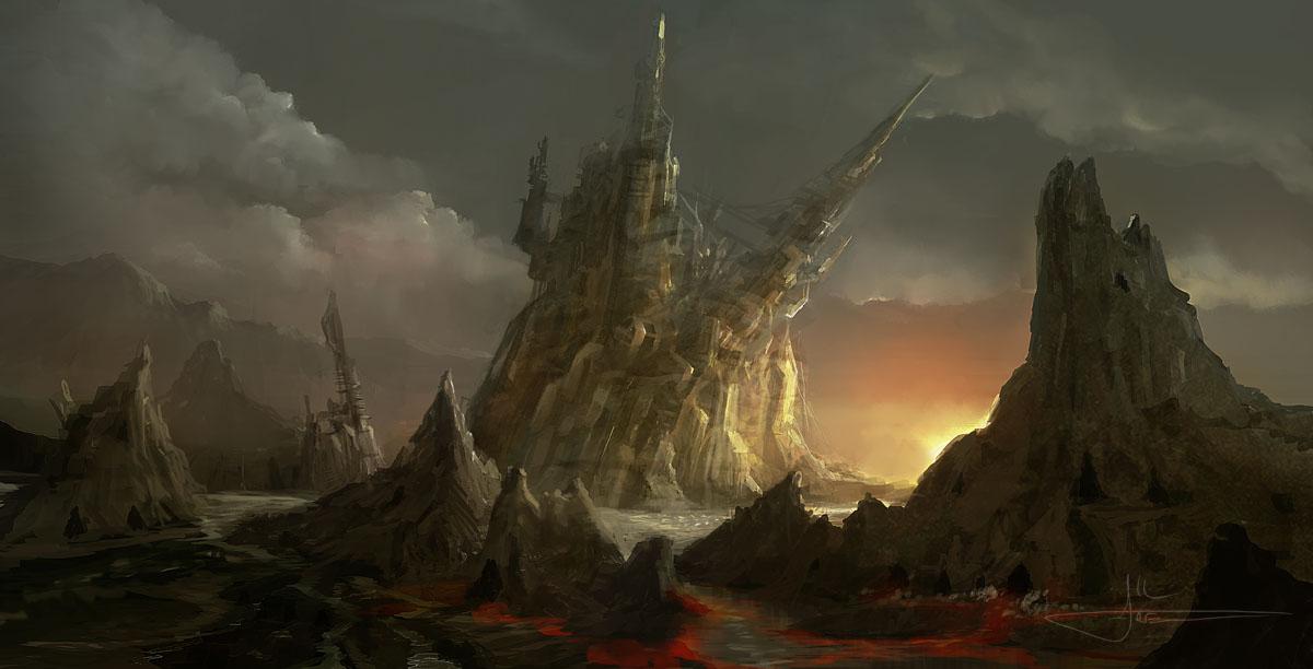 Starfall by erenarik