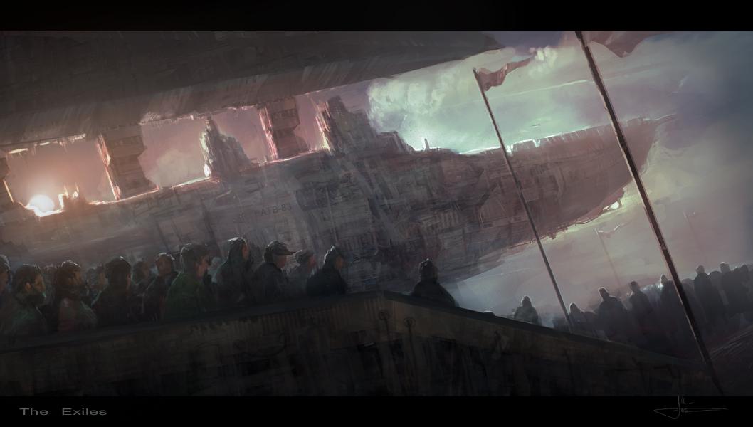 Exiles by erenarik