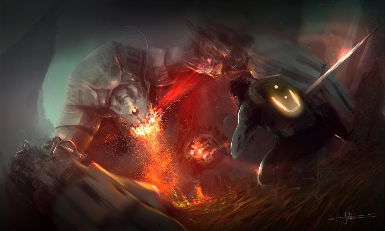 Firebreather by erenarik
