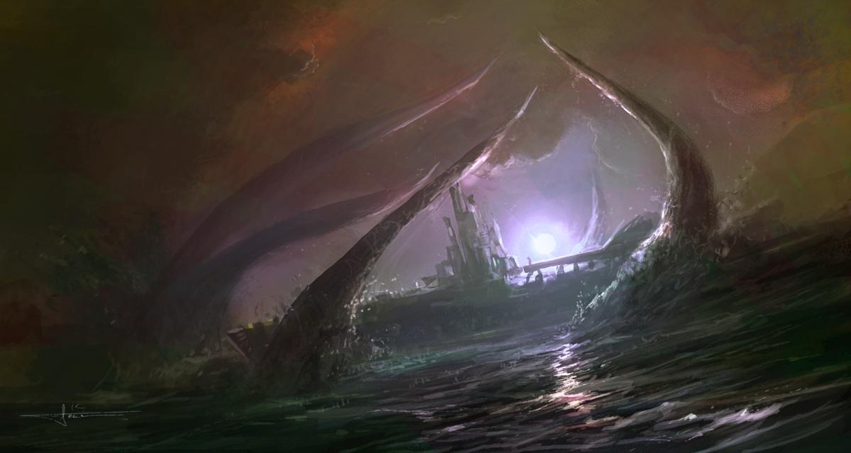 Kraken by erenarik