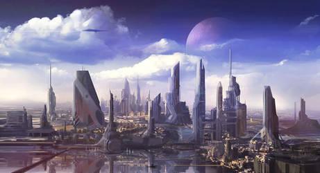 City Concept by erenarik