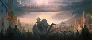 FloatingCity by erenarik