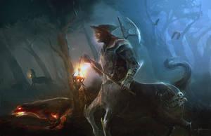 The hunt by erenarik