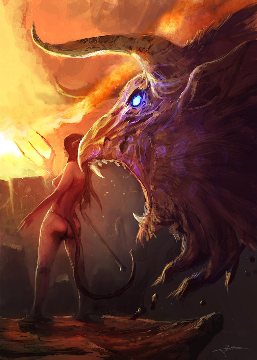 Demon Tamer by erenarik