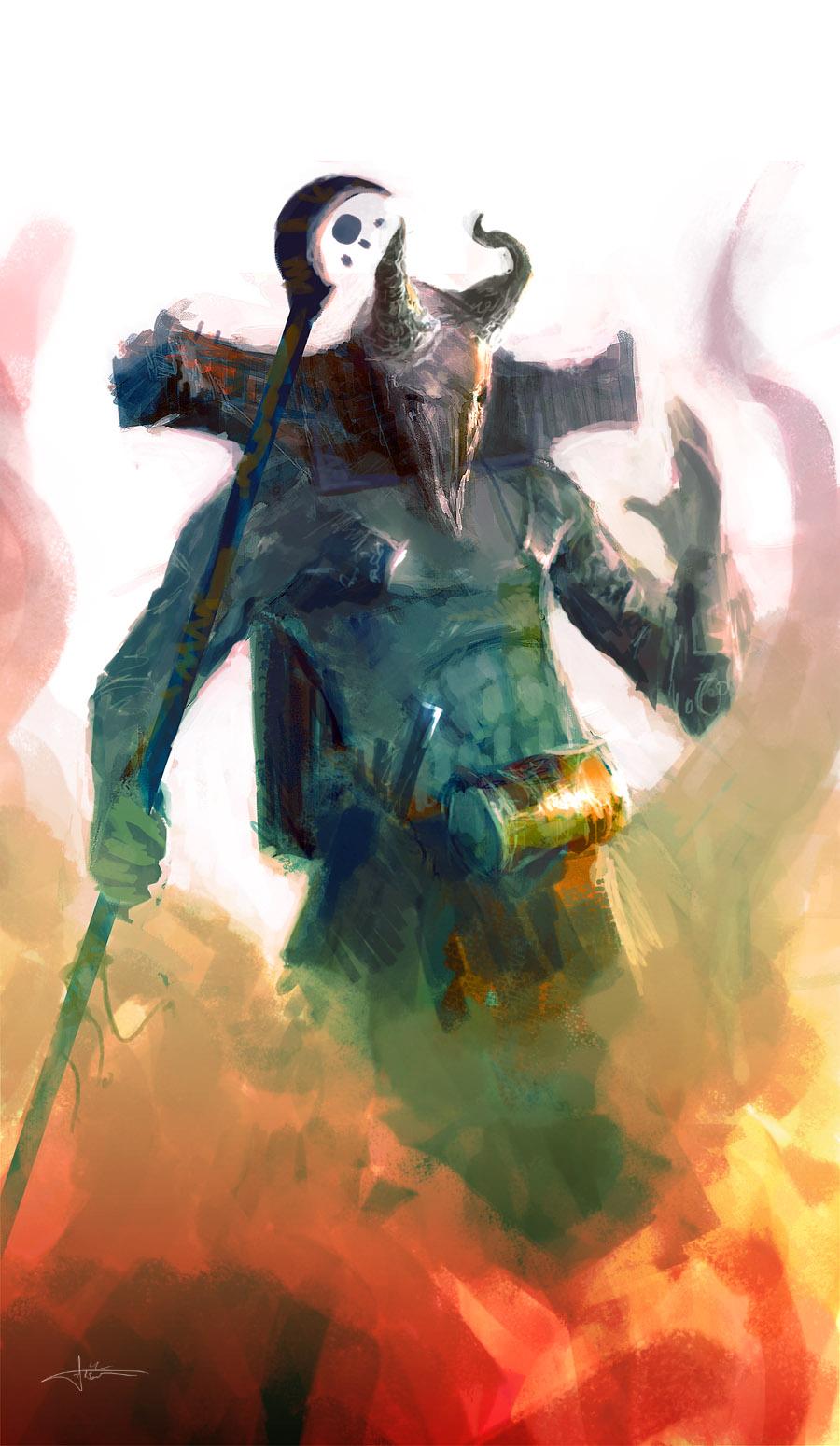 Demented Shaman II by erenarik