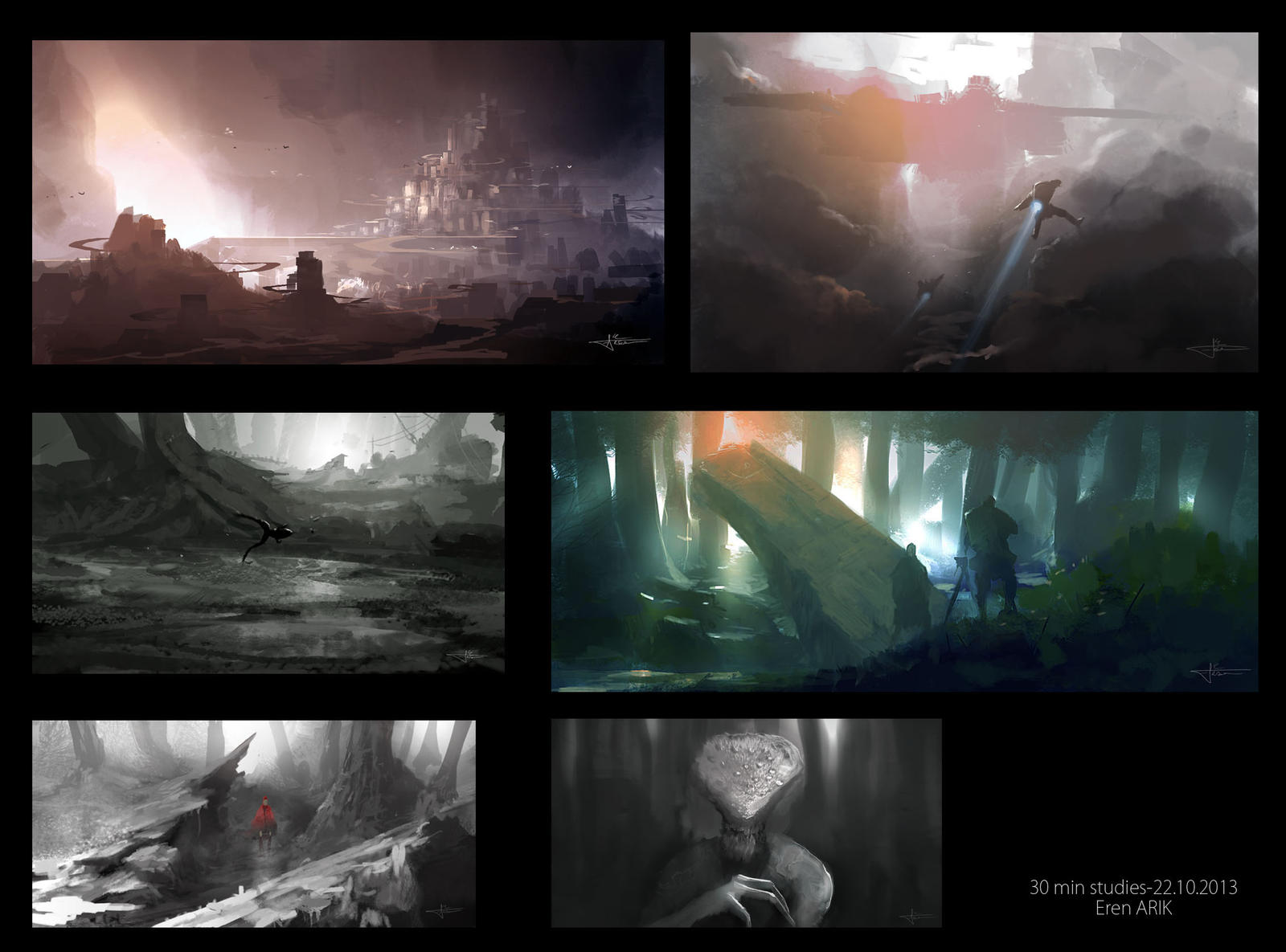 30Min studies 1 by erenarik