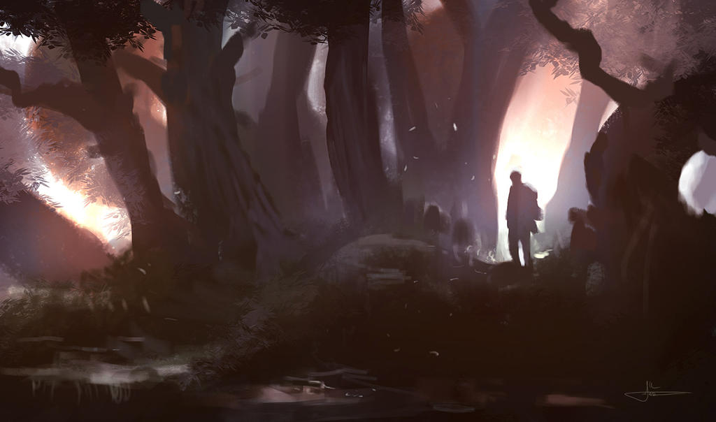 Ancientwoods Speedpainting by erenarik